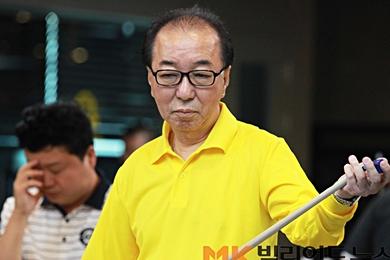 68세 '최고령 프로당구선수'  김철민, PBA드림투어 첫 4강