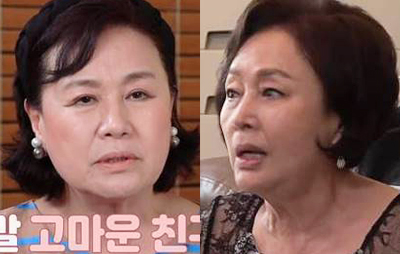 """박원숙 """"빚쟁이들 방송국 <br>찾아와…김창숙 돈빌려줘"""""""