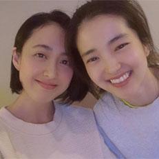 김민정, 김태리와 특급 우정