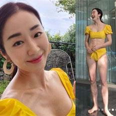 45세 김경화, '핫바디' 근황