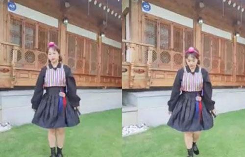 '16kg 감량' 홍현희 <br>깜찍한 추석 인사
