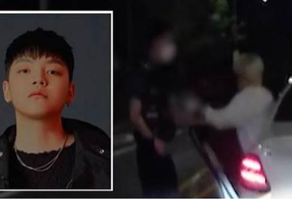 장제원 아들 노엘 <br>경찰 밀치는 영상 공개