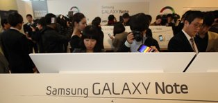 [Samsung Elec. to release Galaxy Note 2 this year] ����� ���� �̹���
