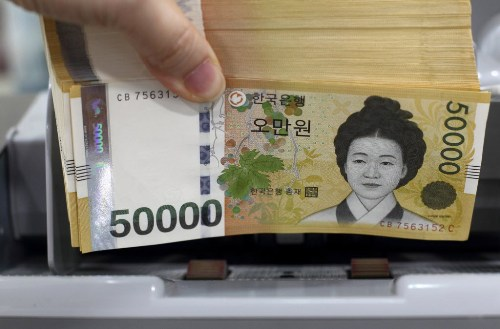 [S. Korean won needs to appreciate up to 10 pct: US Treasury report] ����� ���� �̹���