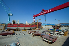 [S. Korea��s ship exports swing to contraction in 13 years amid China��s rise] ����� ���� �̹���