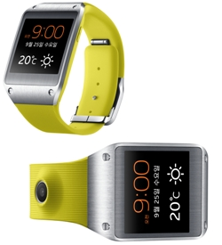 [Samsung to showcase wearable healthcare device ��Galaxy Gear Fit��] ����� ���� �̹���