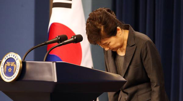 Korea president: Scandal 'my fault and mistake'