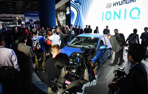 Hyundai Debuts Stealth Autonomous Ioniq