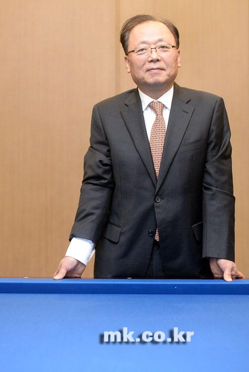남삼현 당구연맹 회장 \