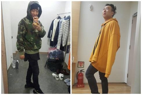 박명수, 스트리트 스타일 '의외의 패션 피플'