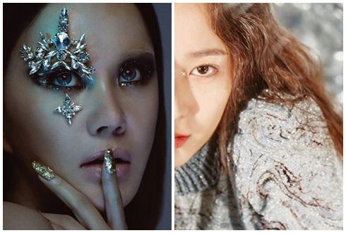 ★ 뷰티 트렌드 – 글리터(GLITTER) 메이크업의 '별빛 매력'