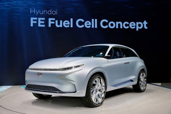 Hyundai Motor's Future Eco (FE) FCEV concept