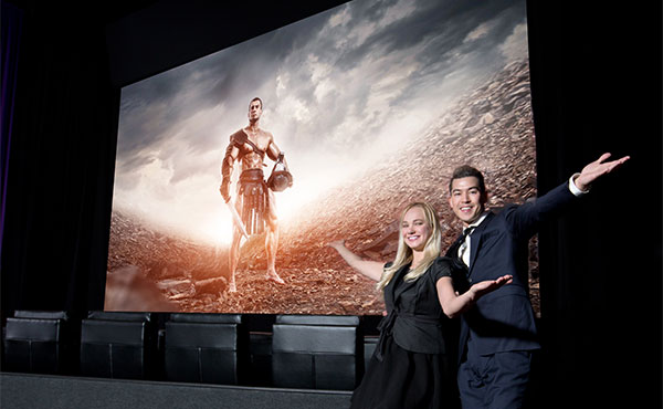 Samsung Electronics Unveils New Cinema Theater Screen Technology
