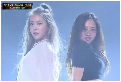 'K팝스타' 전민주-크리샤 츄, 블랙 앤 화이트 룩 '눈길'