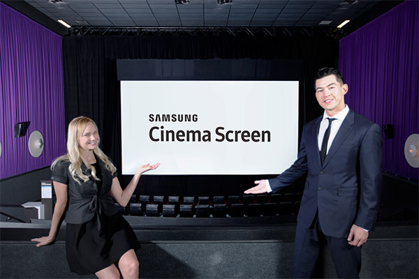 Samsung Unveils Giant 408 Cinema Screen Display