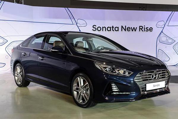 Hyundai Motor's Sonata New Rise