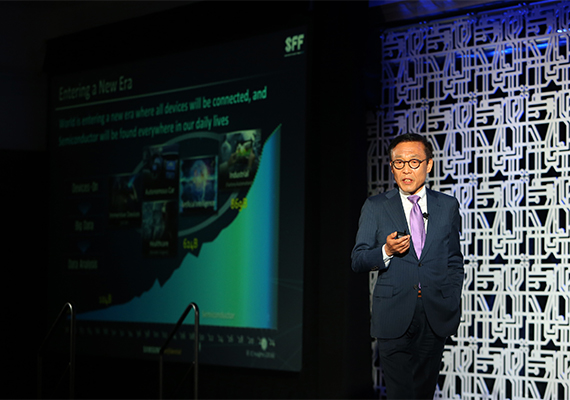 Kim Ki-nam, President of Samsung Electronics' Semiconductor Business