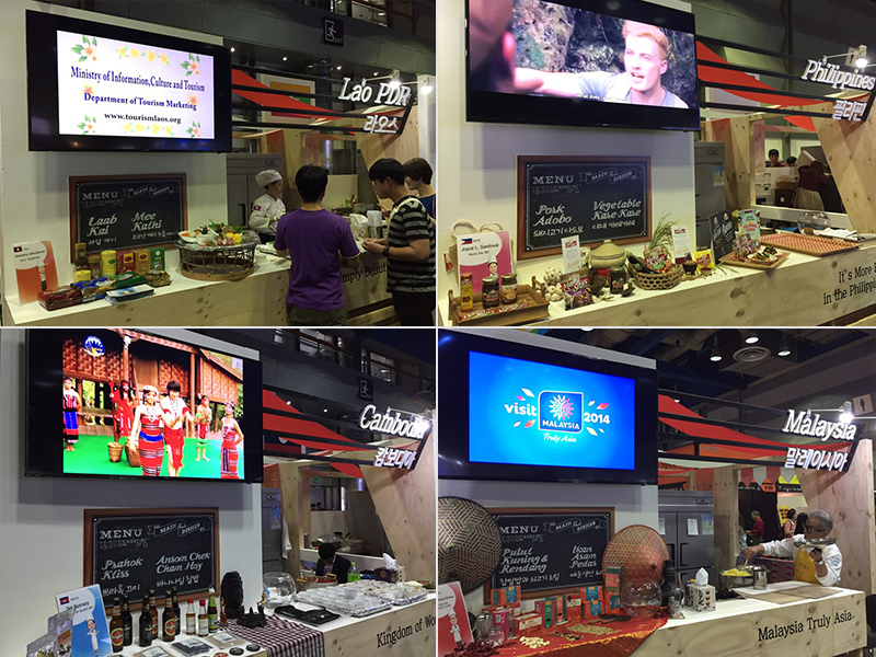 ASEAN Culinary Booths