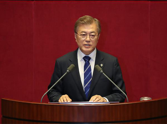 S.Korea's Moon names former navy chief as defence minister