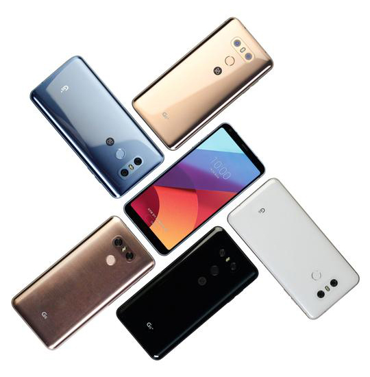 LG G6+, LG G6 32 GB announced in new colors