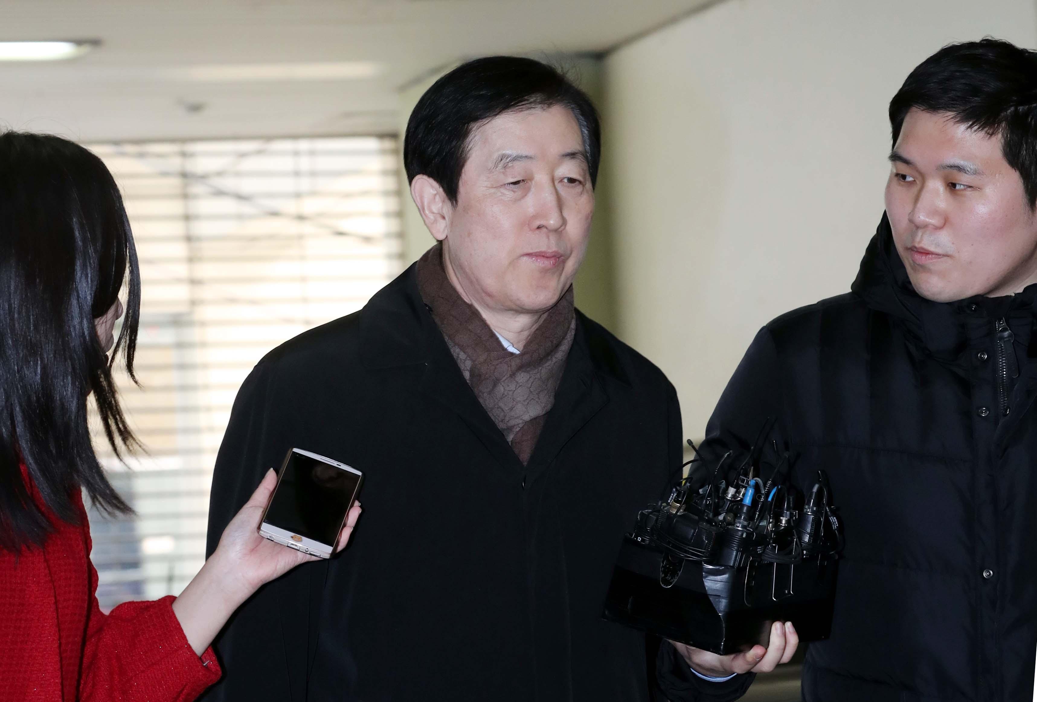 [재판] 최지성 등 삼성 前임원들 최순실 재판서 증언 거부