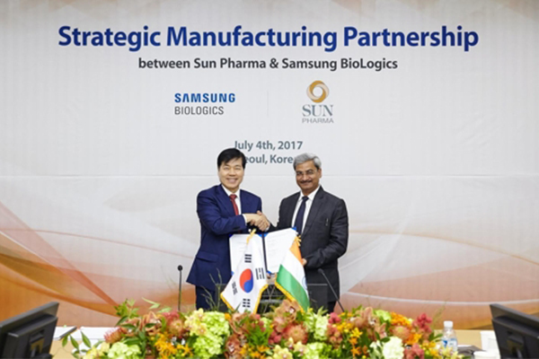 Sun Pharma inks $55.5 M deal with Samsung BioLogics