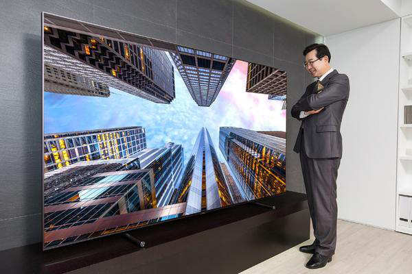 Samsung's giant 4K QLED TV costs $20000