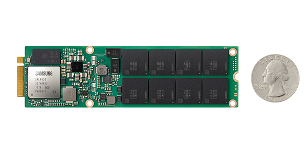 Samsung unveils 1Tb V-NAND chip for commercial SSDs