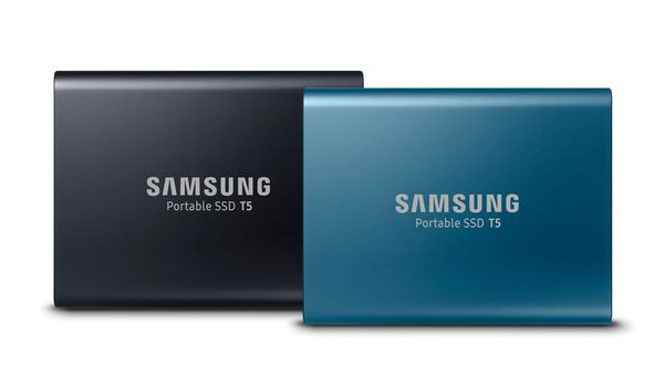 Samsung Releases T5 Portable SSD