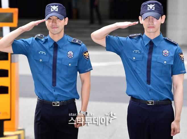 """""""전역을 명 받았습니다"""" 최강창민X최시원, 오빠들이 돌아왔다"""