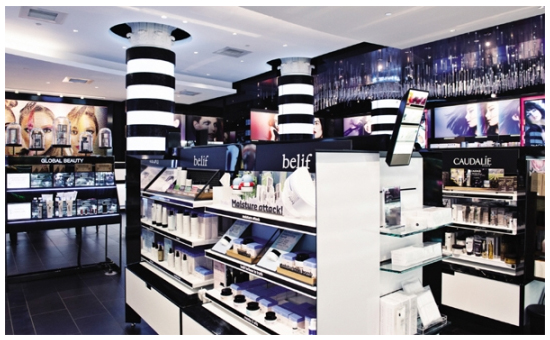 LG Household & Health Care's Belif featured in Sephora shops in the U.S. [Photo by LG Household & Health Care]