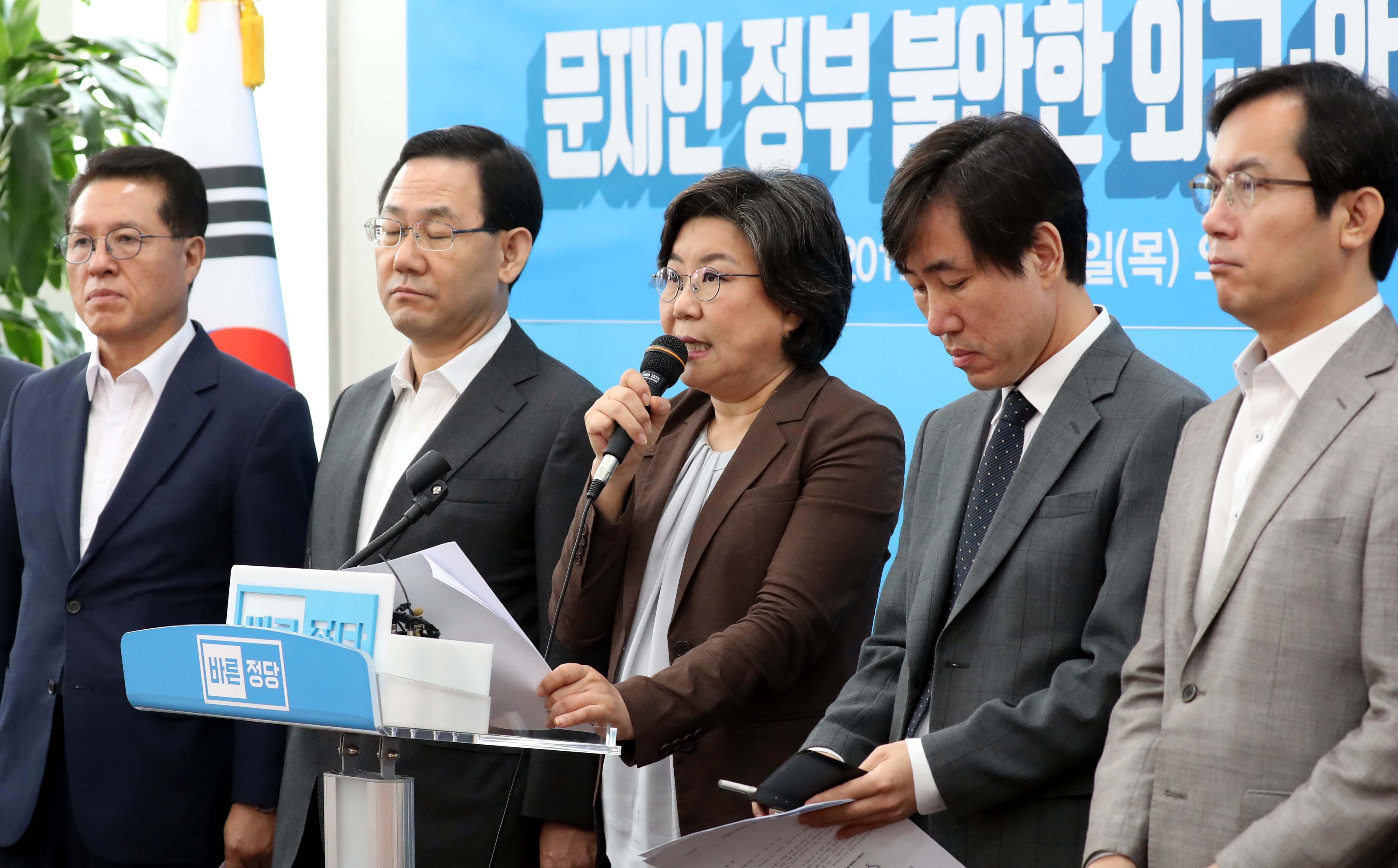 [국회] 이혜훈 사퇴…보수통합 페달?