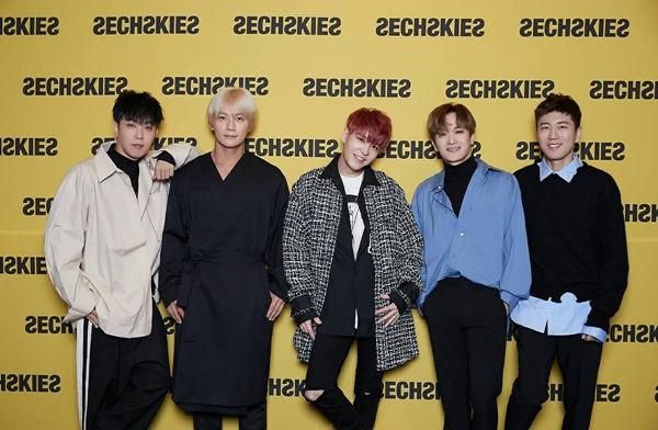젝스키스, 18년 기다린 정규앨범…방송파업·추석에도 끄떡없다