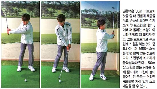 [톱골퍼 비밀노트] (132) 김홍택의 '공식 골프' 스크린서 기본 다지고 '거리공식' 실전 활용
