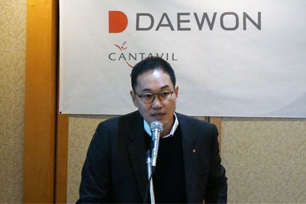 Jeon Eung-sik, Daewon's chief executive