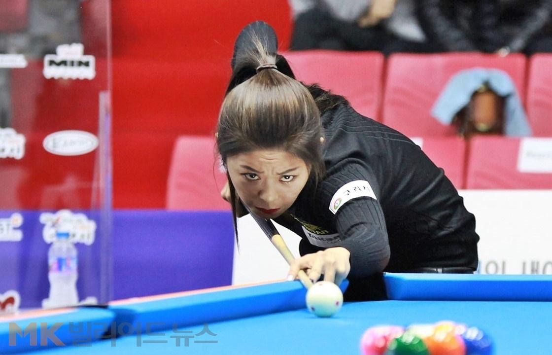 김가영, 올 3번째 전국대회포켓볼 정상