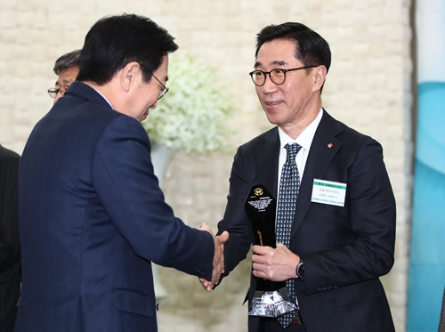 롯데, 제 10회 교육메세나탑 수상