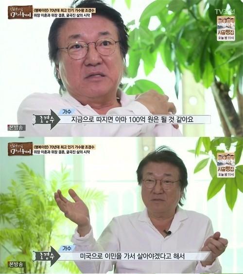 """조승우父 조경수 """"빚 100억, <br>전처와 합의하고…"""""""