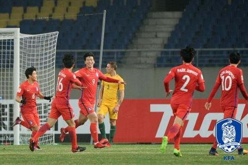 U-23 축구대표팀, 조 1위로 AFC 챔피언십 8강 진출