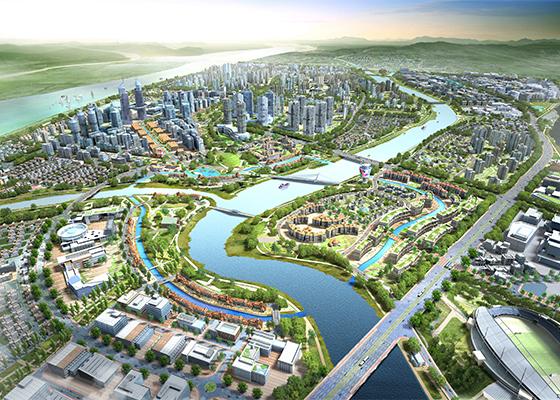 Busan Eco-Delta City