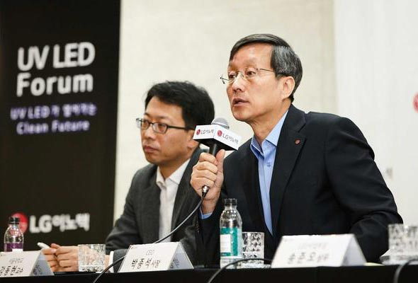 LG Innotek's chief executive Park Jong-Seok