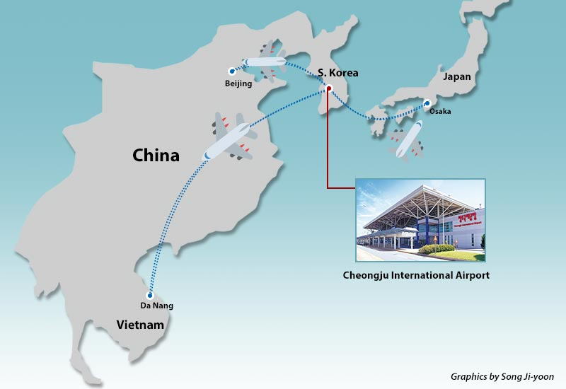 Cheongju in S Korea expands flights to Asian cities reopen route
