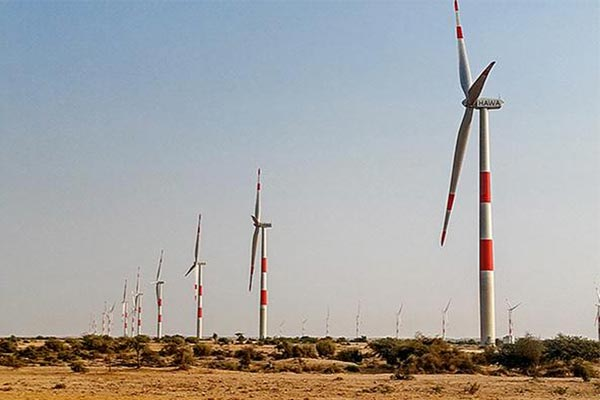 Wind farm in Pakistan [Photo provided by Daelim Energy Co.]