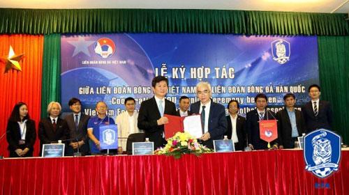 대한축구협회, 베트남축구협회와 MOU 체결