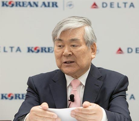 Hanjin Group Chairman Cho Yang-ho