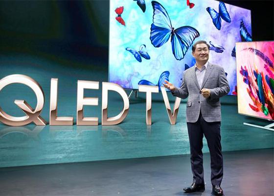 Han Jong-hee, head of Samsung Electronics' visual display business