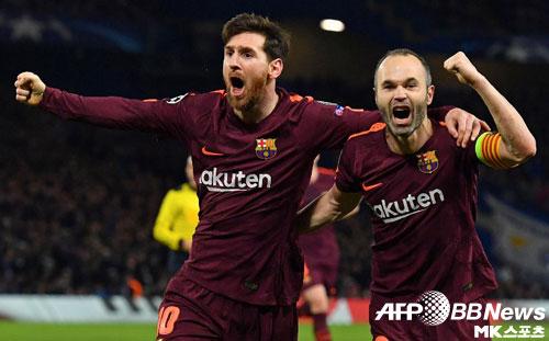 이니에스타 화려한 고별전…바르셀로나, 세비야 누르고 국왕컵 우승
