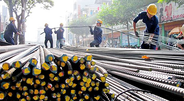 Việt Nam's steel industry has high potential to reach a production growth rate of 22 percent and expand export markets this year.