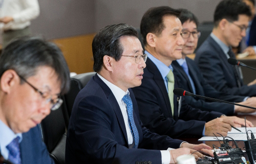 FSC Vice Chairman Kim Yong-beom. [photo by Financial Services Commission]