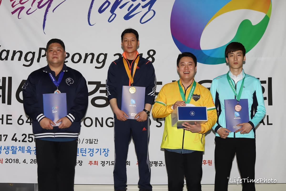 박성우(김포) 정양숙(시흥) 포켓9볼 男女 우승